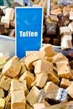 Toffee fudge Stock Photography