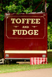Toffee and Fudge stall Stock Image
