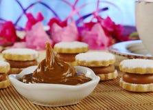Toffee-like Cream Called Manjar Stock Photos