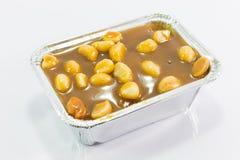 Toffee macadamia nut  cake Royalty Free Stock Photography