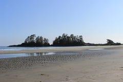 Tofino, BC -弗兰克海岛 库存图片