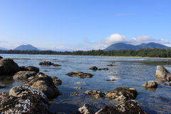 Tofino, BC - Chesterman的海滩 免版税库存照片