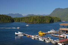 Tofino Harbour, BC Stock Images