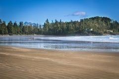 Tofino plaży zachodnie wybrzeże Vancouver wyspa Zdjęcia Royalty Free