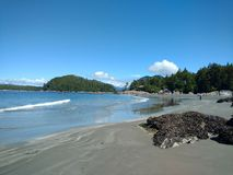 Tofino plaża zdjęcie royalty free