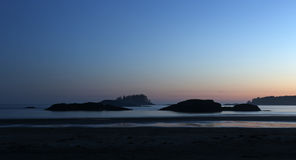 Tofino-Sonnenuntergang Stockbilder