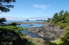 Tofino - View from the Wickaninnish Inn Royalty Free Stock Photography