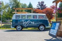 Tofino wolkswagena Microbus zdjęcia royalty free