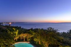 Пляж Tofo - Vilankulo, Мозамбик Стоковая Фотография RF