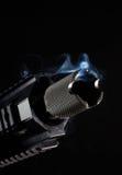 Tofs av rök Fotografering för Bildbyråer