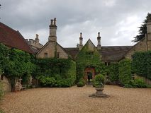 Toft manor house royalty free stock photography