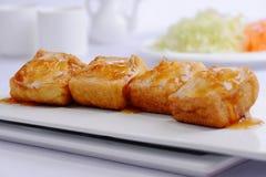 Tofu με το πτερύγιο καρχαριών στοκ φωτογραφία με δικαίωμα ελεύθερης χρήσης