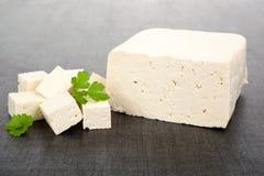 Tofu background. Royalty Free Stock Photo