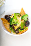 Tofu beancurd and vegetables. Fresh and healthy tofu,beancurd with mix vegetables typical chinese dish Stock Photos