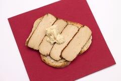 Tofu on bread Stock Photos