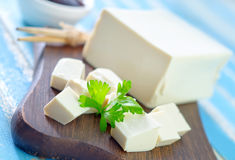 Tofu cheese Royalty Free Stock Photography