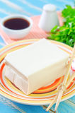 Tofu cheese Royalty Free Stock Photo