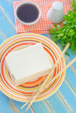 Tofu cheese Stock Image