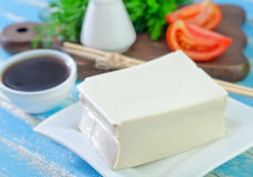 Tofu cheese Royalty Free Stock Image