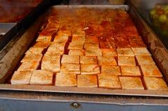 Tofu cinese Immagini Stock