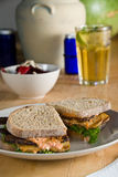 Tofu club sandwich Stock Images