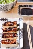 Tofu con la marinata del miso Immagini Stock Libere da Diritti