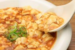 Tofu de Mapo Photo stock