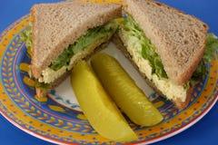 Tofu de Sandwich van de Salade Royalty-vrije Stock Foto's