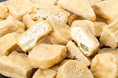 Tofu - deep fried Stock Photos