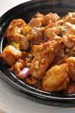 Tofu del vapore fotografie stock