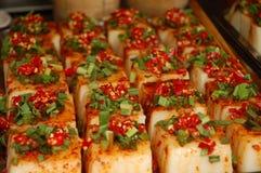 Tofu delicacy Stock Image