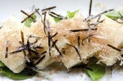 Tofu di Agedashi immagini stock libere da diritti
