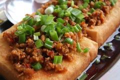 Tofu dish Stock Images