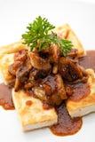 Tofu Dish Stock Photography