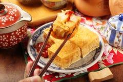 Tofu fedido Fotos de Stock
