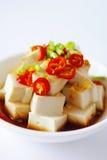 Tofu freddo Immagine Stock