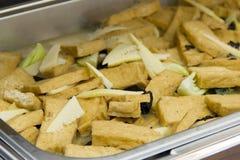 Tofu fried Stock Photography