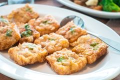 Tofu frit Photo stock