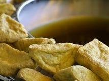 Tofu frit Images stock