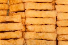 Tofu fritto Fotografie Stock Libere da Diritti