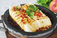 Tofu froid Image libre de droits
