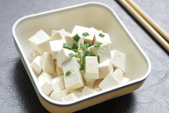 Tofu - Healthy Asian Food Stock Photo