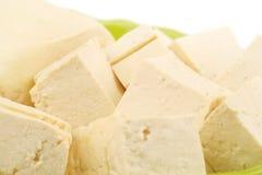 Tofu i bunke fotografering för bildbyråer