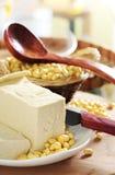 Tofu i soj fasole Zdjęcia Stock