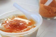 Tofu jelly Royalty Free Stock Photo