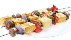 Tofu kebab. Stock Images