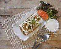 Tofu Lapje vlees, fusievoedsel Royalty-vrije Stock Afbeelding