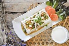 Tofu Lapje vlees, fusievoedsel Royalty-vrije Stock Afbeeldingen