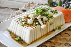 Tofu Lapje vlees, fusievoedsel Royalty-vrije Stock Foto's
