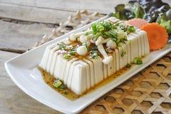Tofu Lapje vlees, fusievoedsel Royalty-vrije Stock Foto